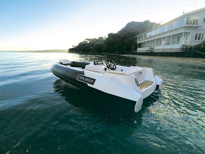 Explorer Boats Jet RIBs range