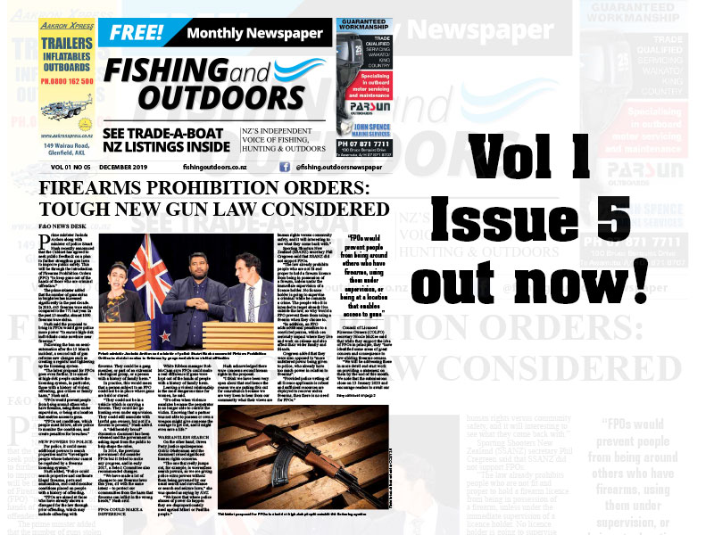 Fishing & Outdoors NZ December 2019