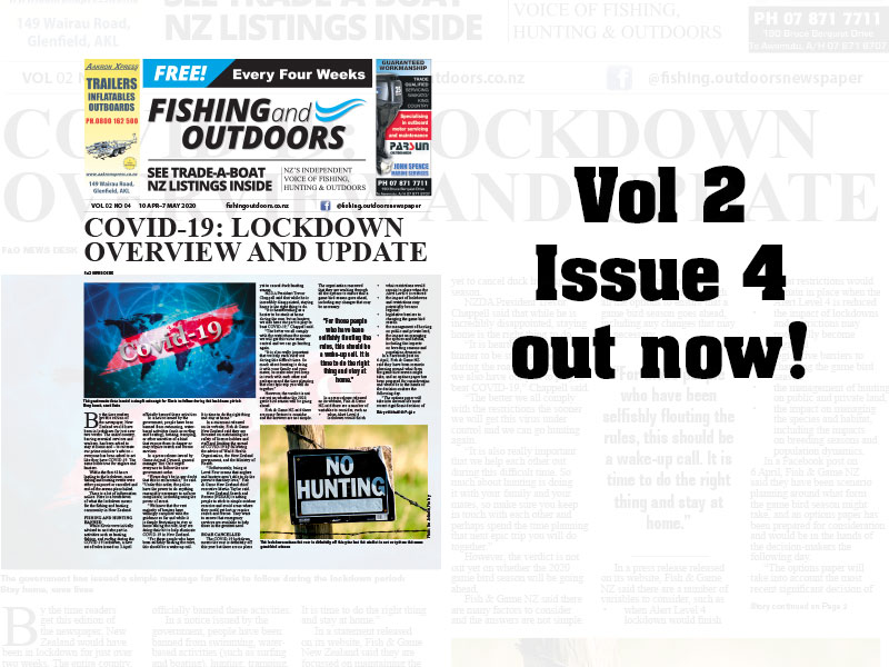 Fishing & Outdoors Vol 2 Issue 4 2020