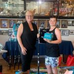 13-year-old tags two striped marlin
