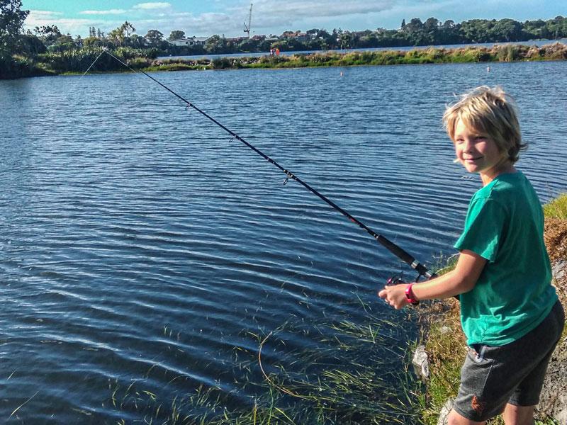 Lake-Pupuke-trout-fishing